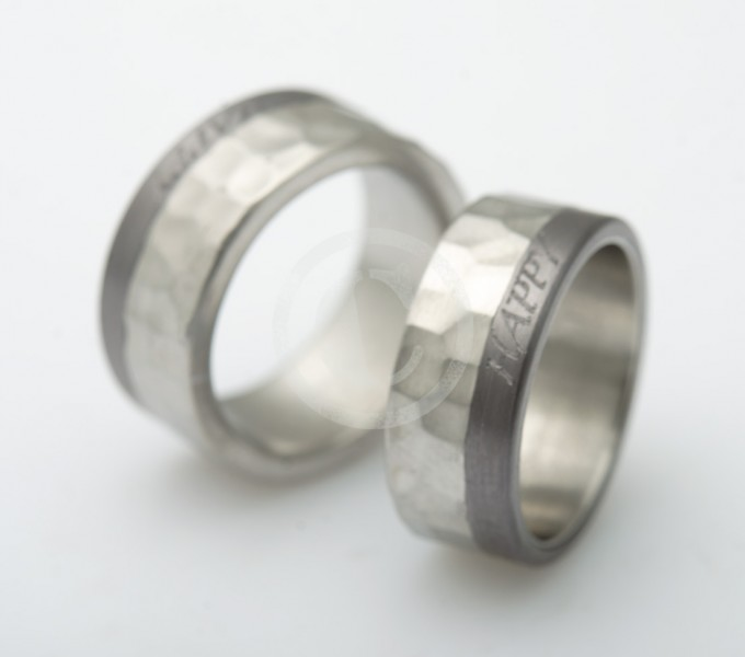 Wedding rings chrome cobalt happy marriage wedding rings